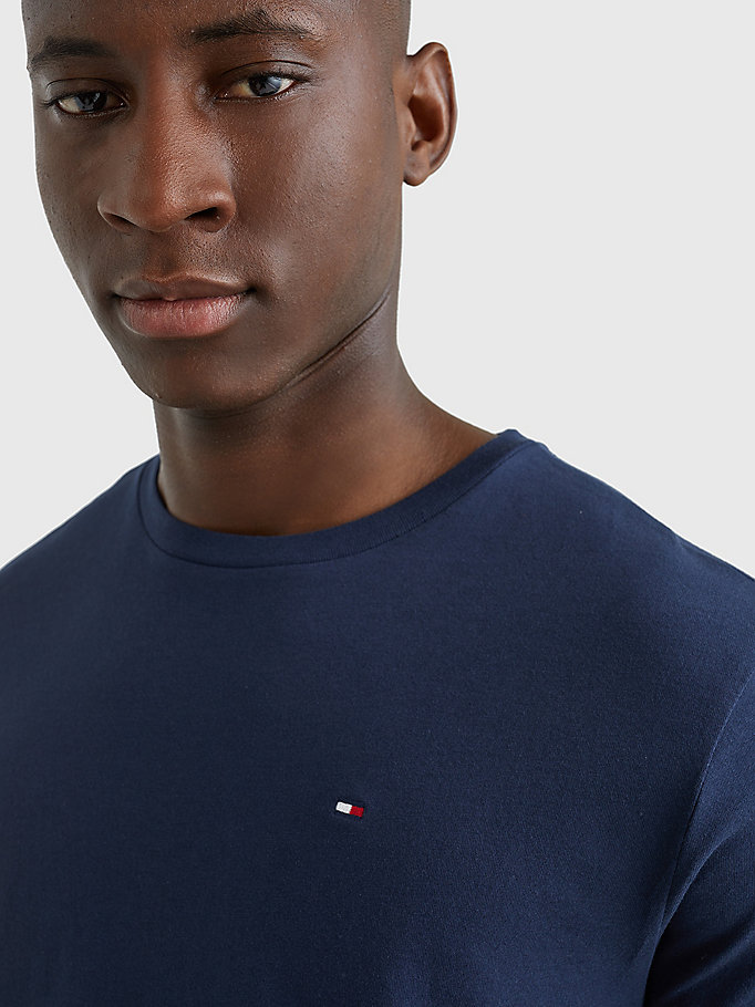 TOMMY HILFIGER Icon T-Shirt - GREY HEATHER - TOMMY HILFIGER Clothing - detail image 2