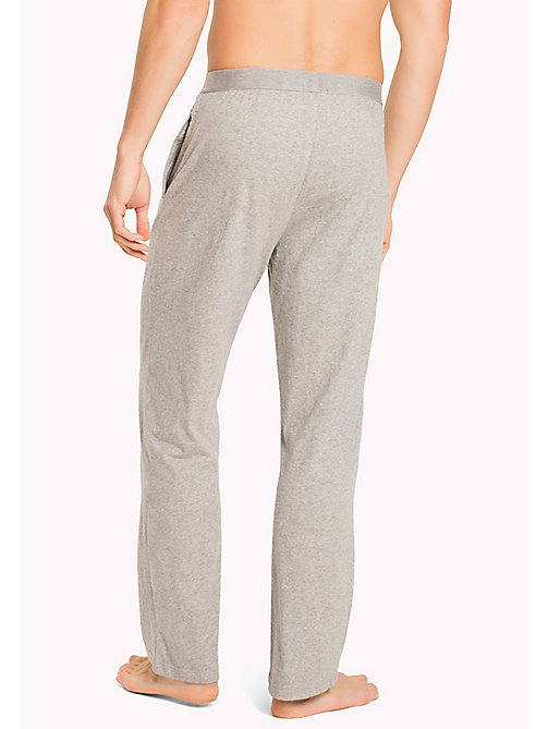 TOMMY HILFIGER Icon Trousers - GREY HEATHER - TOMMY HILFIGER Lounge & Nightwear - detail image 1