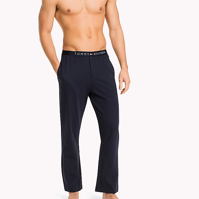TOMMY HILFIGER Icon Trousers - BLACK - TOMMY HILFIGER Clothing - main image