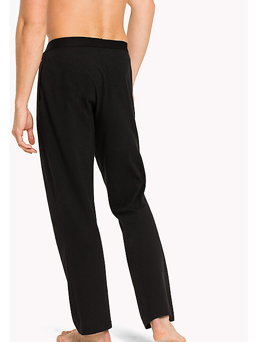 TOMMY HILFIGER Icon Trousers - BLACK - TOMMY HILFIGER Lounge & Nightwear - detail image 1