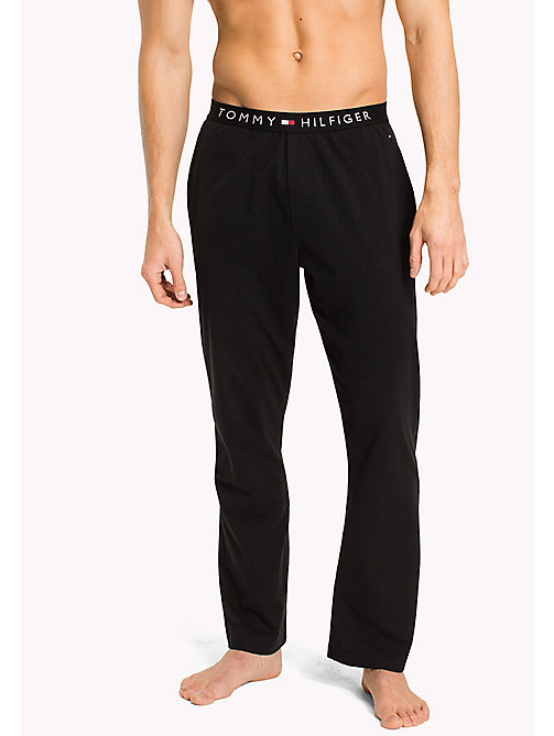 TOMMY HILFIGER Icon Trousers - BLACK - TOMMY HILFIGER Lounge & Nightwear - main image