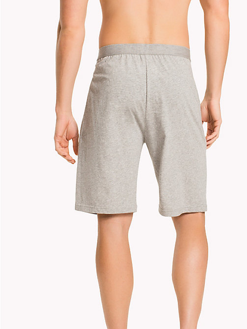 TOMMY HILFIGER Long-Line Jersey-Shorts - GREY HEATHER - TOMMY HILFIGER Loungewear & Nachtwäsche - main image 1