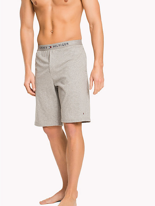 TOMMY HILFIGER Icon Shorts - GREY HEATHER - TOMMY HILFIGER Lounge & Nightwear - main image