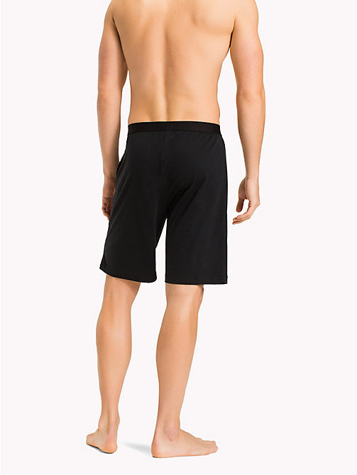 TOMMY HILFIGER Icon Shorts - BLACK - TOMMY HILFIGER Lounge & Nightwear - detail image 1