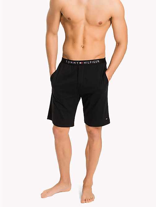 TOMMY HILFIGER Icon Shorts - BLACK - TOMMY HILFIGER Lounge & Nightwear - main image