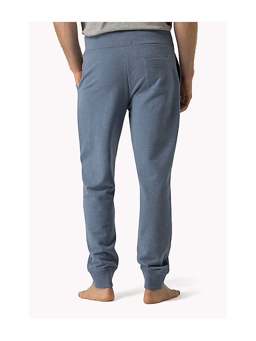 TOMMY HILFIGER Cotton Icon joggingbroek - MARINA HEATHER - TOMMY HILFIGER Broeken - detail image 1