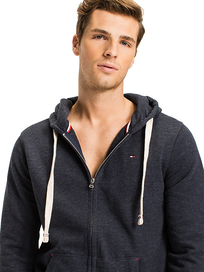 TOMMY HILFIGER Cotton Icon Hooded Sweatshirt -  - TOMMY HILFIGER Men - detail image 2