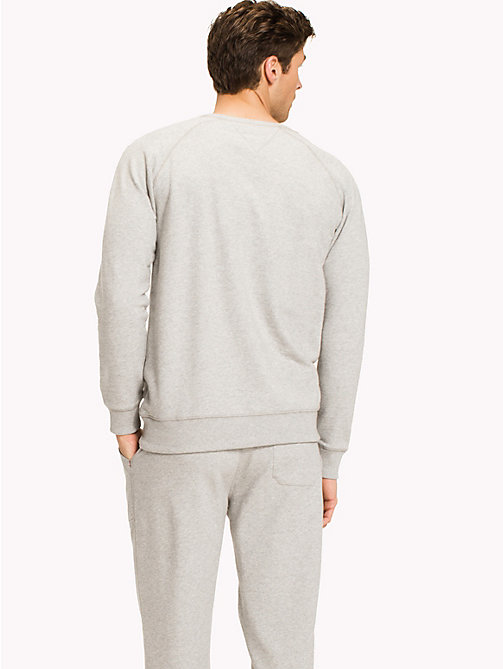 TOMMY HILFIGER Спортивная толстовка - GREY HEATHER BC05 - TOMMY HILFIGER Топы - подробное изображение 1