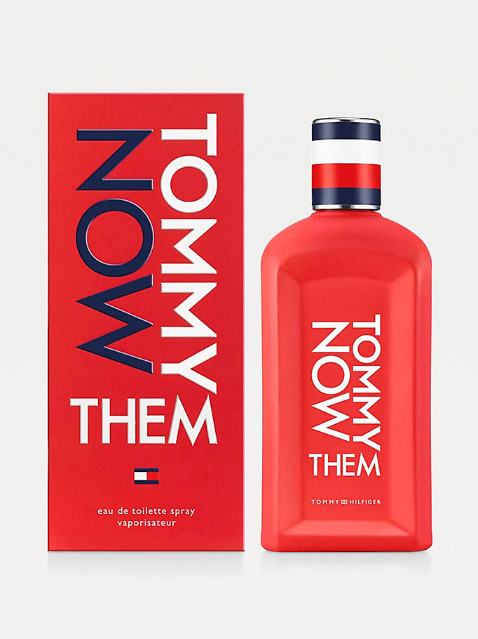 eau de toilette tommy now them multicolore da unisex tommy hilfiger