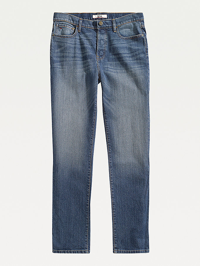 blue adaptive relaxed jeans for men tommy hilfiger