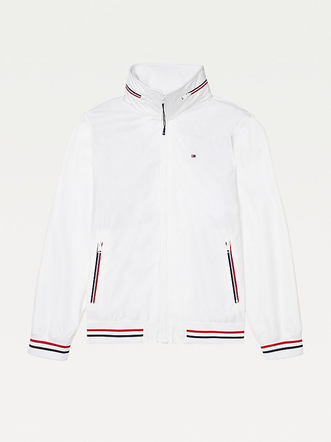 white adaptive yacht jacket for men tommy hilfiger