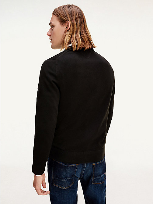 PACIFIC V-NK - NEW BLACK - TOMMY HILFIGER Kleding - detail image 1