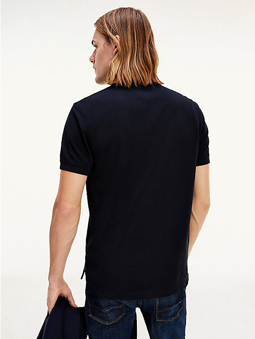Tommy Regular Fit Polo - NEW BLACK -  Kleding - detail image 1