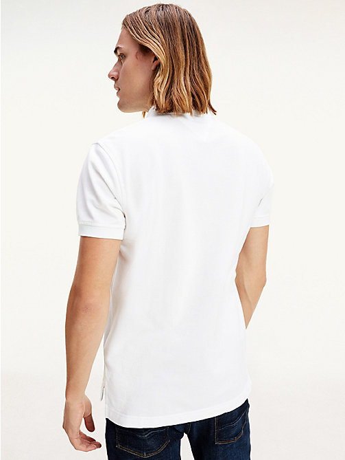 Tommy Polo Regular Fit - CLASSIC WHITE - TOMMY HILFIGER Vêtements - image détaillée 1