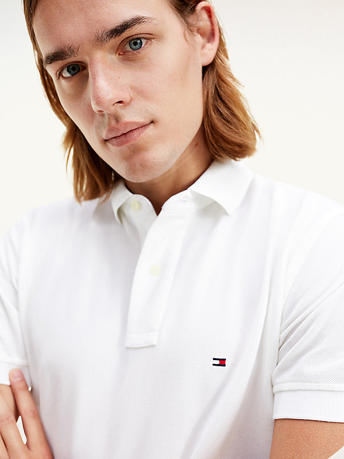 TOMMY HILFIGER Tommy Regular Fit Polo - APPLE RED - TOMMY HILFIGER Мужчины - подробное изображение 2