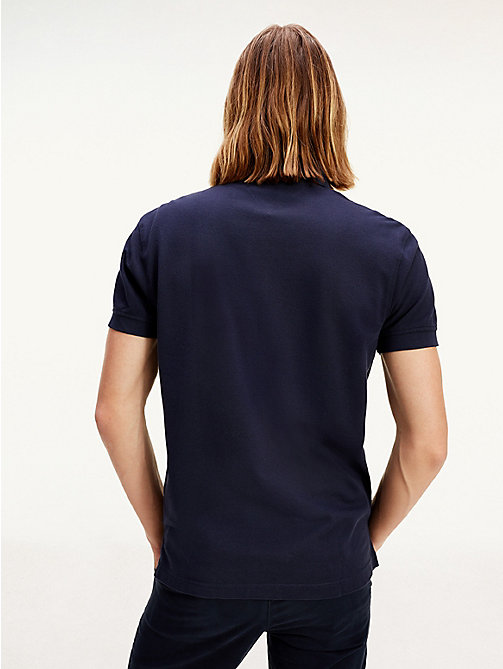 TOMMY HILFIGER Tommy Regular Fit Polo - MIDNIGHT - TOMMY HILFIGER Polo Shirts - detail image 1