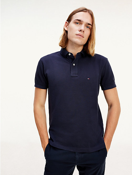 Tommy Polo Regular Fit - MIDNIGHT - TOMMY HILFIGER Vêtements - image principale