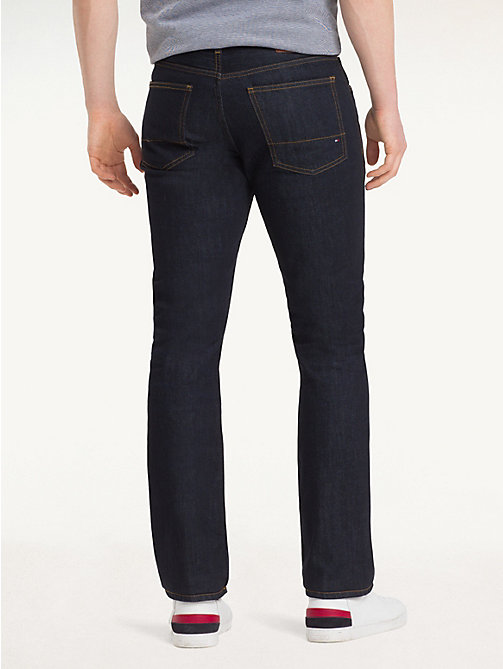 Regular Fit Straight Leg Jeans - CLEAN BLUE? - TOMMY HILFIGER Men - detail image 1