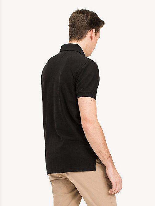 Klassiek regular fit poloshirt - FLAG BLACK -  Kleding - detail image 1