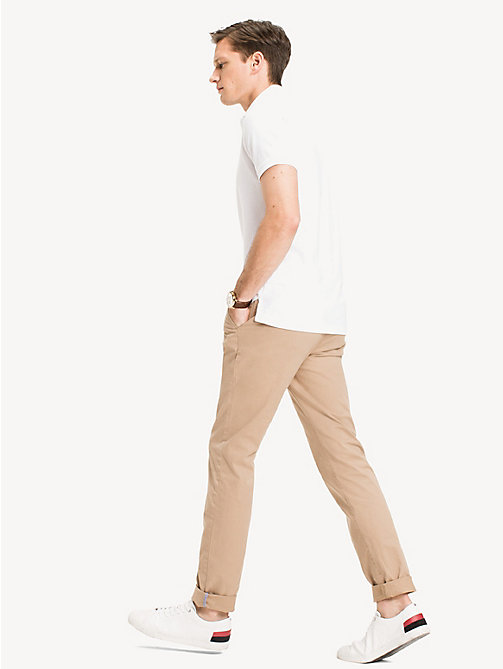 Slim Fit Poloshirt - BRIGHT WHITE - TOMMY HILFIGER Kleidung - main image 1