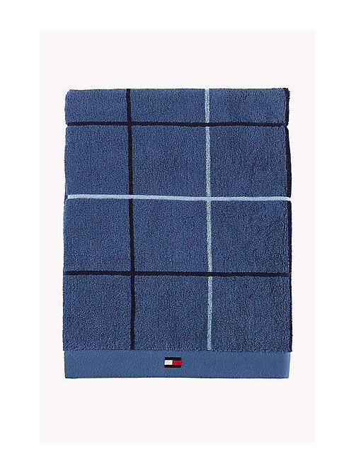 TOMMY HILFIGER Hand Towel - BLUE - TOMMY HILFIGER Towels - main image