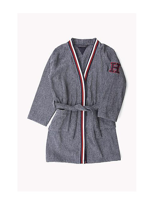 TOMMY HILFIGER Bathrobe - NAVY - TOMMY HILFIGER Towels - detail image 1