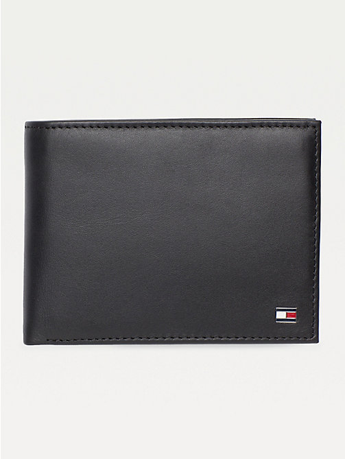 TOMMY HILFIGER Etn Wallet - BLACK - TOMMY HILFIGER Wallets & Keyrings - main image