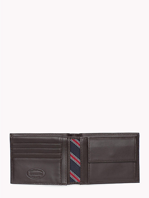 TOMMY HILFIGER Mesh Flap Wallet - BROWN - TOMMY HILFIGER Wallets & Keyrings - detail image 1