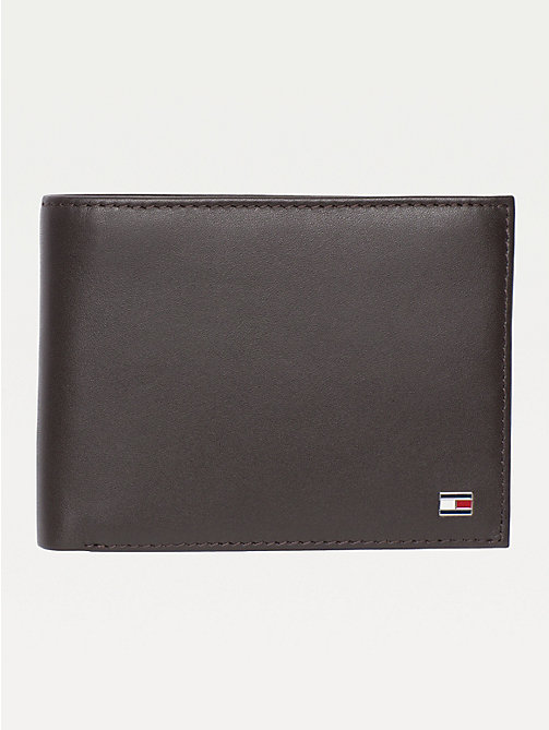 TOMMY HILFIGER Etn Wallet - BROWN - TOMMY HILFIGER Wallets & Keyrings - main image