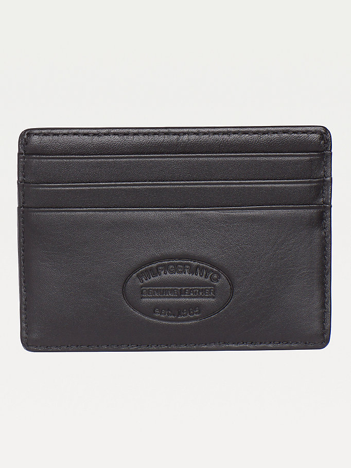 TOMMY HILFIGER Etn Credit Card Holder - BROWN - TOMMY HILFIGER Bags & Accessories - detail image 1