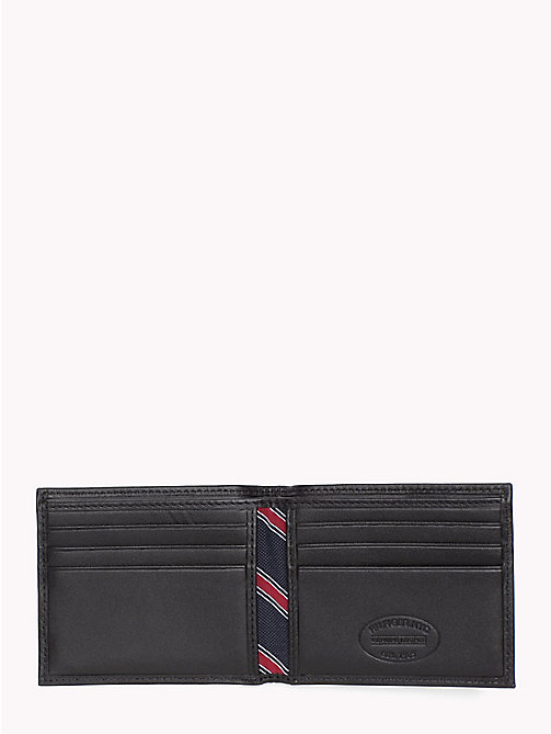 TOMMY HILFIGER Small Embossed Bifold Wallet - BLACK - TOMMY HILFIGER Wallets & Keyrings - detail image 1