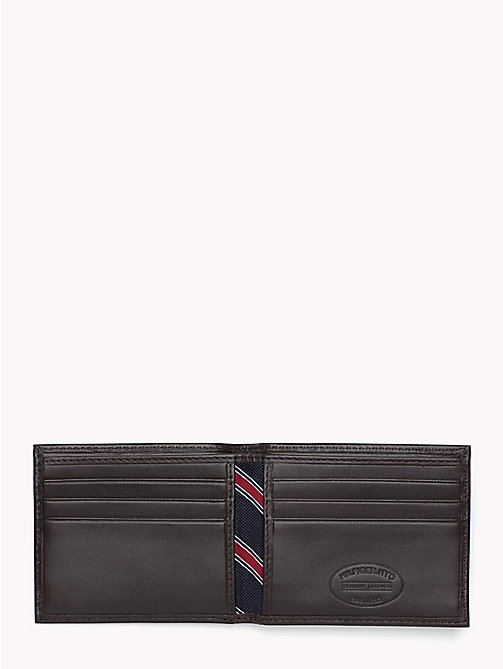 TOMMY HILFIGER Etn Mini Credit Card Wallet - BROWN - TOMMY HILFIGER Wallets & Keyrings - detail image 1