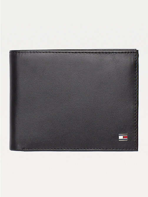 TOMMY HILFIGER Etn Trifold Wallet - BLACK - TOMMY HILFIGER Wallets & Keyrings - main image