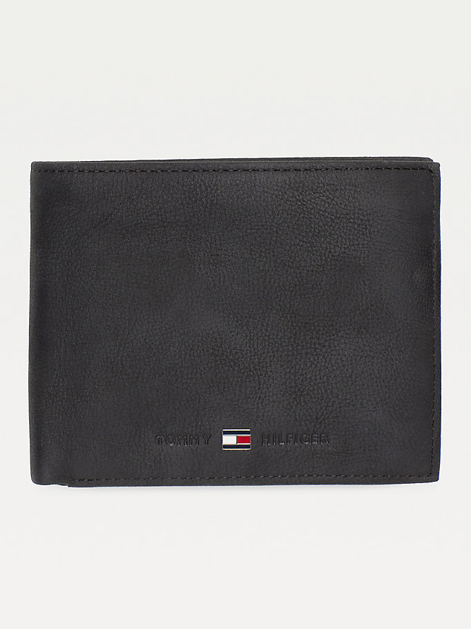 TOMMY HILFIGER Johnson Credit Card Wallet - BROWN - TOMMY HILFIGER Bags & Accessories - main image