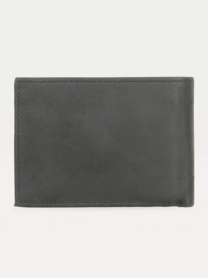 TOMMY HILFIGER Johnson Small Leather Wallet - BROWN - TOMMY HILFIGER Men - detail image 1