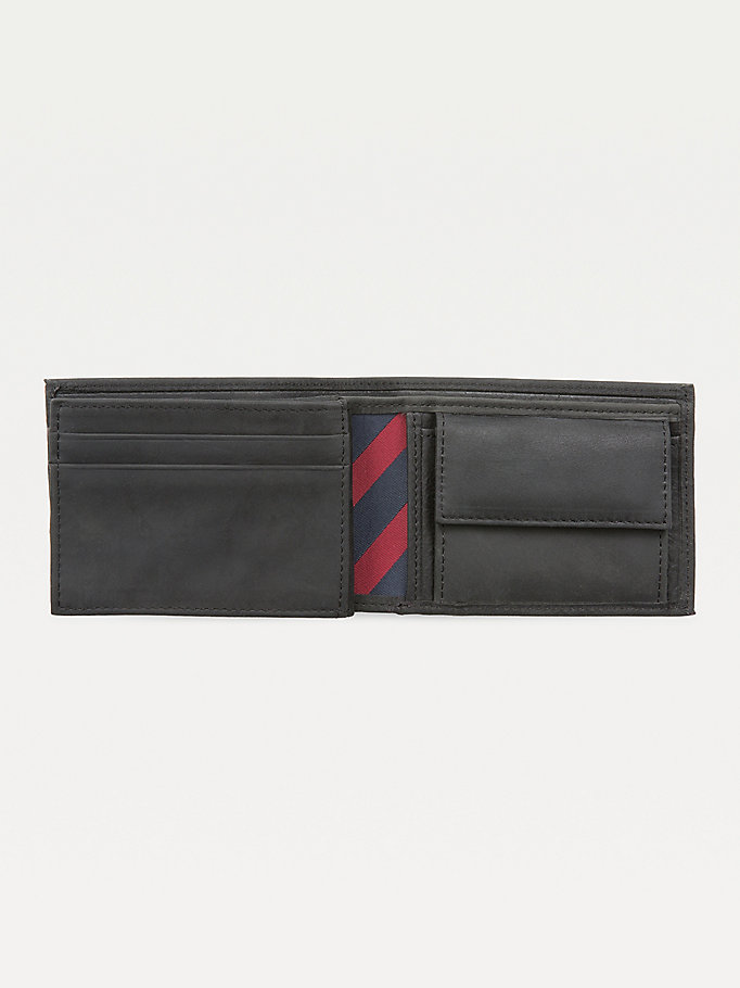 TOMMY HILFIGER Johnson Small Leather Wallet - BROWN - TOMMY HILFIGER Men - detail image 2