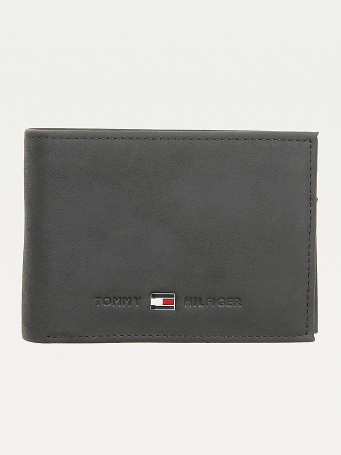 TOMMY HILFIGER Johnson Small Leather Wallet - BROWN - TOMMY HILFIGER Men - main image