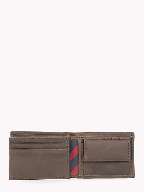 TOMMY HILFIGER Johnson Mini Credit Card Wallet - BROWN - TOMMY HILFIGER Wallets & Keyrings - detail image 1