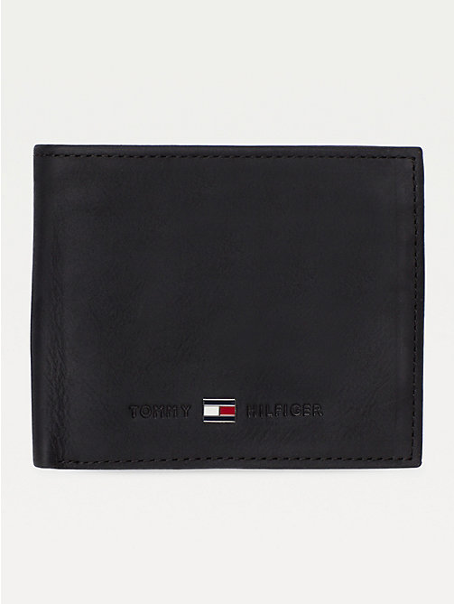 TOMMY HILFIGER Small Bifold Card Wallet - BLACK - TOMMY HILFIGER Wallets & Keyrings - main image