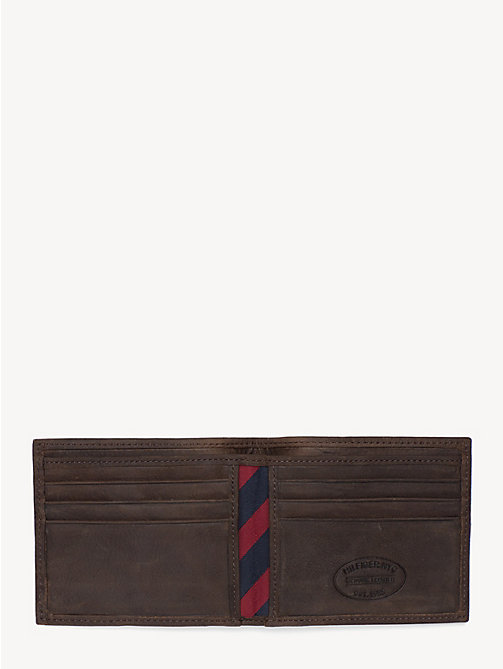 TOMMY HILFIGER Small Bifold Card Wallet - BROWN - TOMMY HILFIGER Bags & Accessories - detail image 1