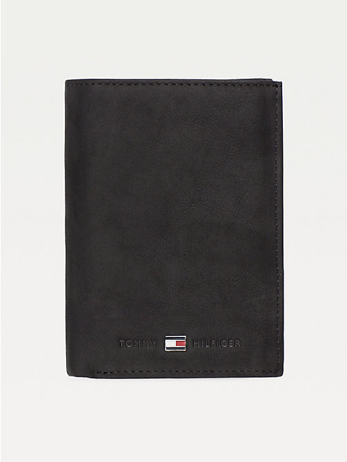 TOMMY HILFIGER Johnson Wallet - BLACK - TOMMY HILFIGER Wallets & Keyrings - main image