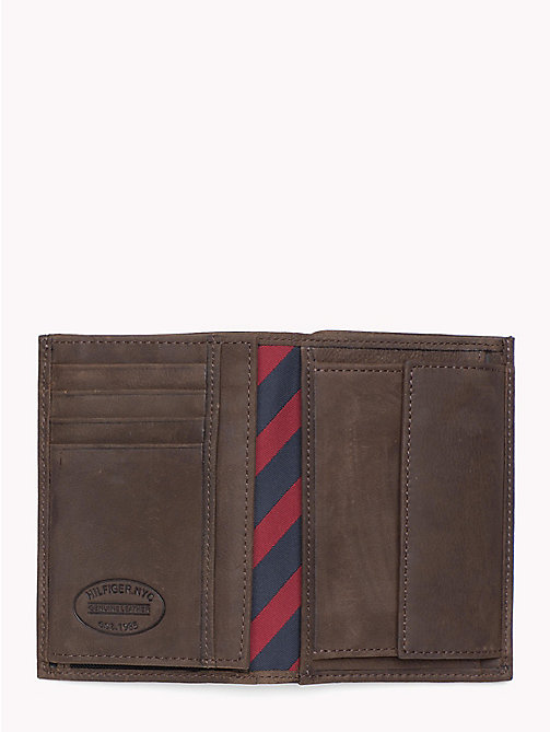 TOMMY HILFIGER Portrait Trifold Wallet - BROWN - TOMMY HILFIGER Wallets & Keyrings - detail image 1