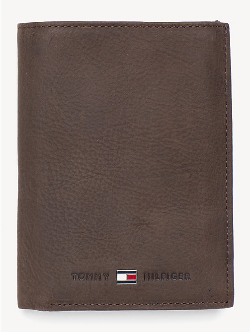 TOMMY HILFIGER Portrait Trifold Wallet - BROWN - TOMMY HILFIGER Wallets & Keyrings - main image