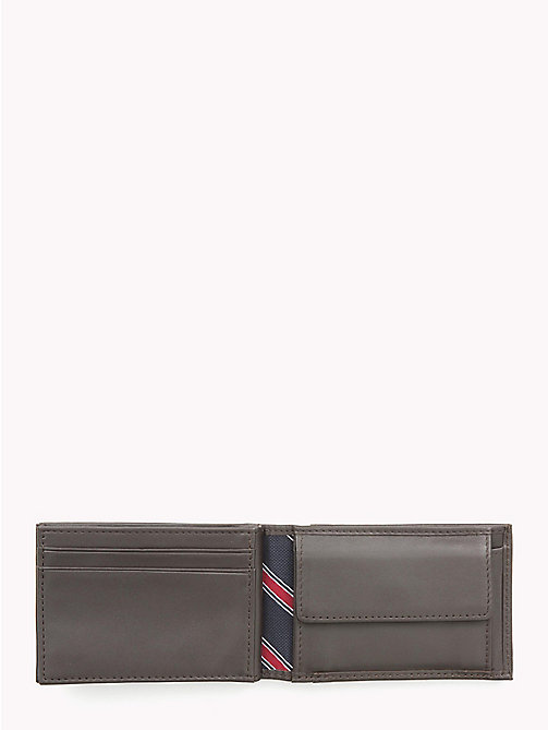 TOMMY HILFIGER Small Sleek Leather Wallet - BROWN - TOMMY HILFIGER Wallets & Keyrings - detail image 1