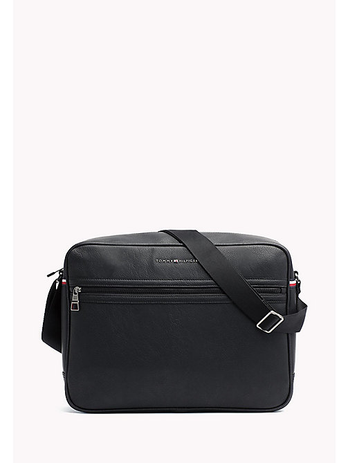 TOMMY HILFIGER Essential Messenger Bag - BLACK - TOMMY HILFIGER Messenger Bags - main image