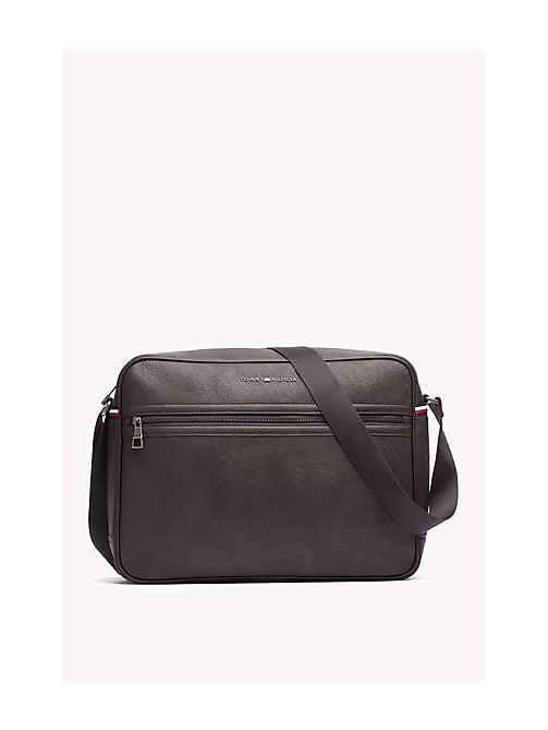 TOMMY HILFIGER Essential Messenger Bag - COFFEEBEAN - TOMMY HILFIGER Messenger Bags - main image