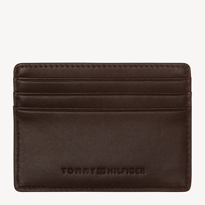 TOMMY HILFIGER HARRY CC HOLDER - BLACK - TOMMY HILFIGER Men - detail image 1