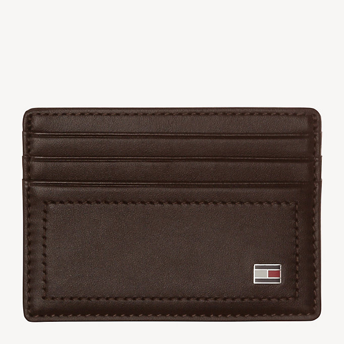 TOMMY HILFIGER HARRY CC HOLDER - BLACK - TOMMY HILFIGER Men - main image