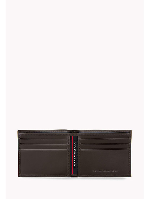 TOMMY HILFIGER Mini Leather Wallet - COFFEE BEAN - TOMMY HILFIGER Wallets & Keyrings - detail image 1