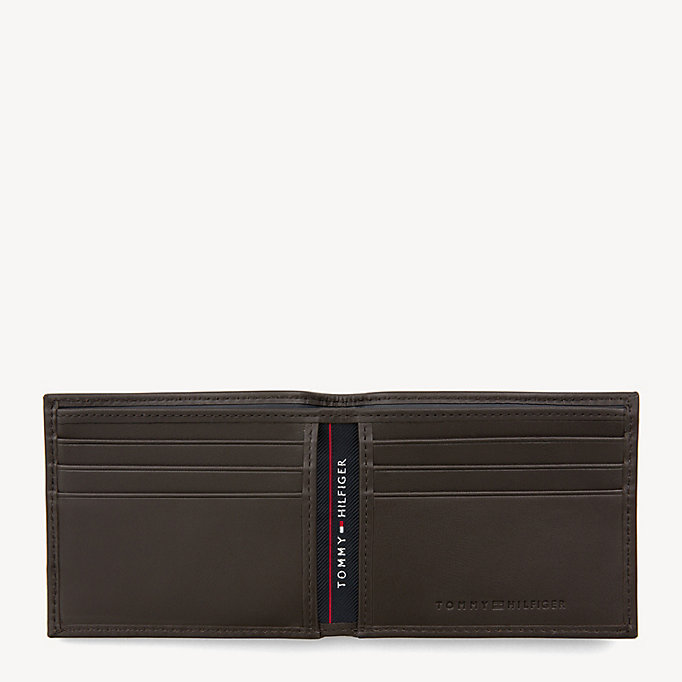 TOMMY HILFIGER Mini Leather Wallet - BLACK - TOMMY HILFIGER Men - detail image 2